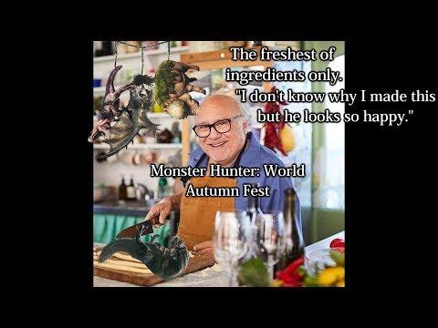 Monster Hunter: World Autumn Festival