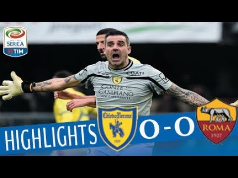 Chievo - Roma 0 - 0 - Highlights - Giornata 16 - Serie A TIM 2017/18