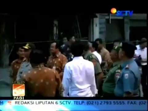 Berita Politik Terbaru - Jokowi kunjungi pasar klewer pasca kebakaran