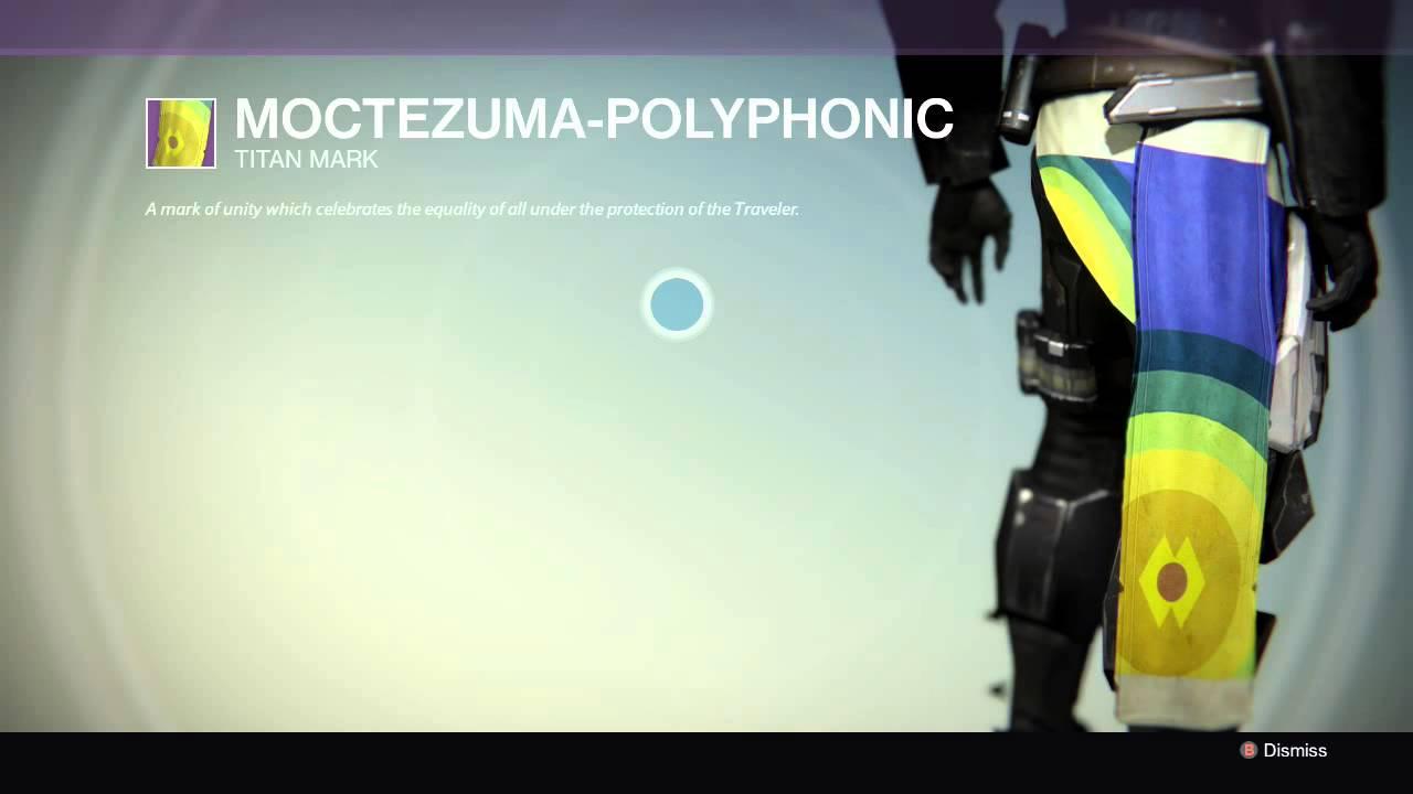 MOCTEZUMA-POLYPHONIC : DESTINY : LEGENDARY : TITAN MARK