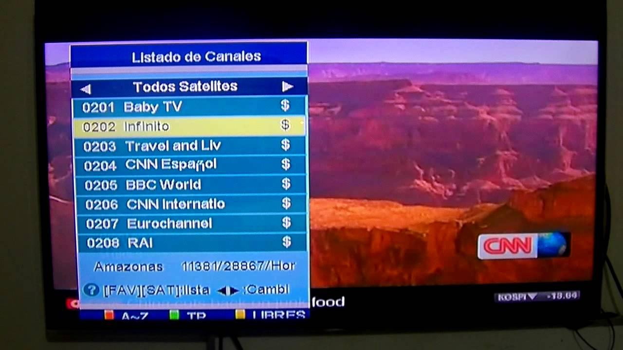 lista de canales ls1600u