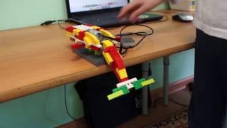 Синий кит Lego WeDo