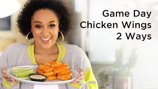 Tia Mowry's Game Day Baked Chicken Wings | Quick Fix