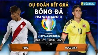 SOI KÈO, NHẬN ĐỊNH BÓNG ĐÁ HÔM NAY PERU VS COLOMBIA 7h, 10/7/2021 - COPA AMERICA