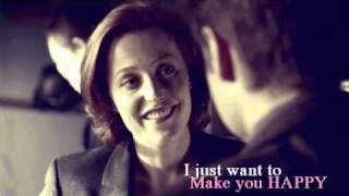 """I just want to make you happy""... Mulder/Scully"