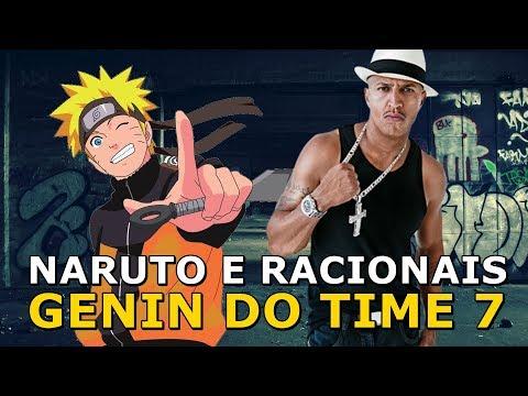 NARUTO E RACIONAIS - GENIN DO TIME 7 - Um otaku e um violão #02