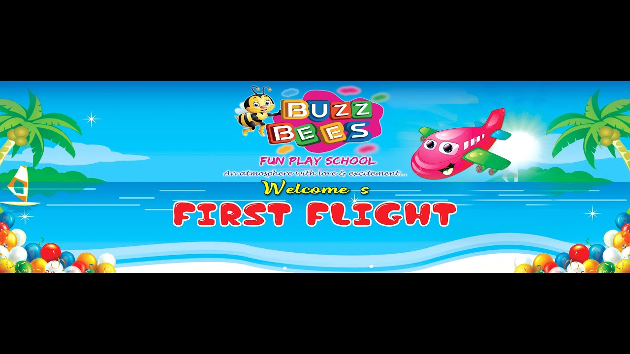 Buzz Bees' Annual Day 2020- The First Flight Rewind | Buzz Bees Fun Play School