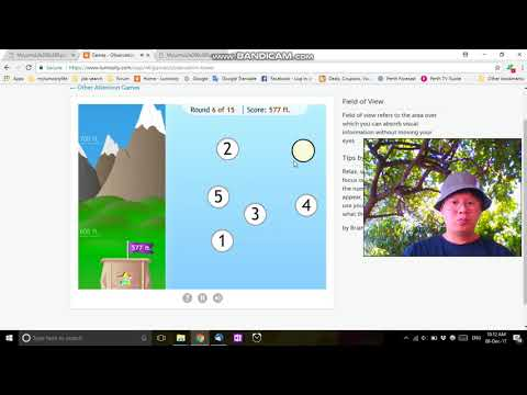 Let's Play - Lumosity - Observation Tower - 1778 Score - Brain Games 2017