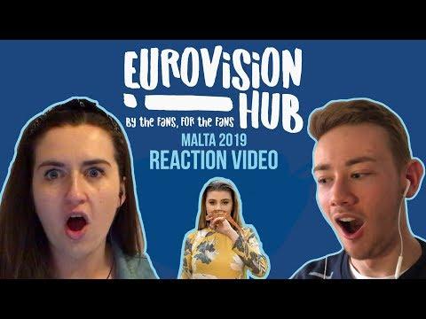 Malta | Eurovision 2019 Reaction Video | Michela - Chameleon