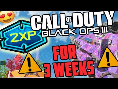 HOW TO GET 3 WEEKS OF 2XP... RIGHT NOW! (BLACK OPS 3 DOUBLE XP NEW UPDATE)