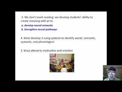 Reading Remediation: Psycholinguist Approach