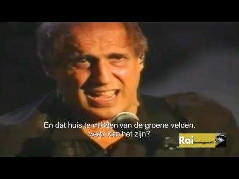 Eros Ramazzotti & Adriano Celentano   Ragazzo Della Via Gluck NL Ondertiteld