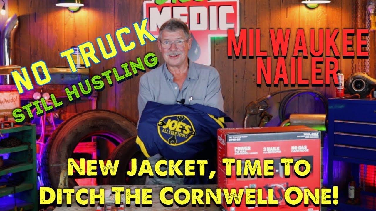 Joe's AllStar Tools: Milwaukee Nailer, New Jacket, & New Streamlight. No Tooltruck, Still Hustling