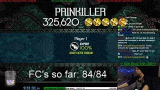 ROCK BAND 2 - WORLD RECORD SPEEDRUN - 84/84 SONGS 100% FC!!!! (9:31:31)