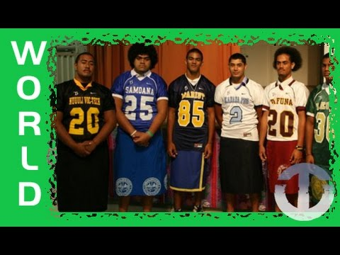 American Samoan High School Football on Trans World Sport