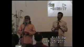 Vincent Selvakumar & Sadhu Sundar Selvaraj in Pangasinan