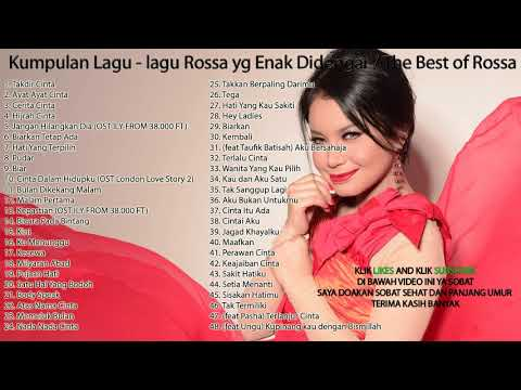 Kumpulan Lagu - lagu Rossa yg Enak Didengar / The Best of Rossa
