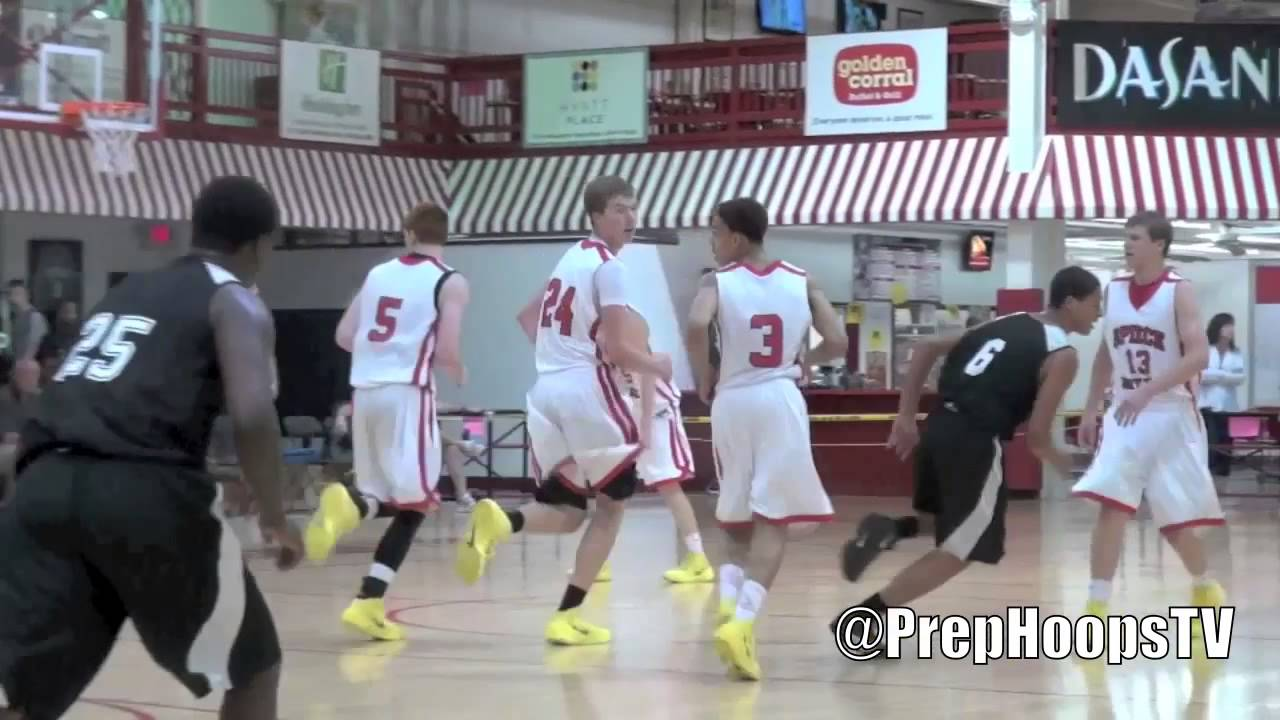 Derrik Smits 2015 Zionsville High School highlights son of NBA
