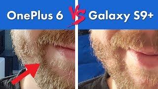 OnePlus 6 vs Galaxy S9+ Camera Comparison Review!