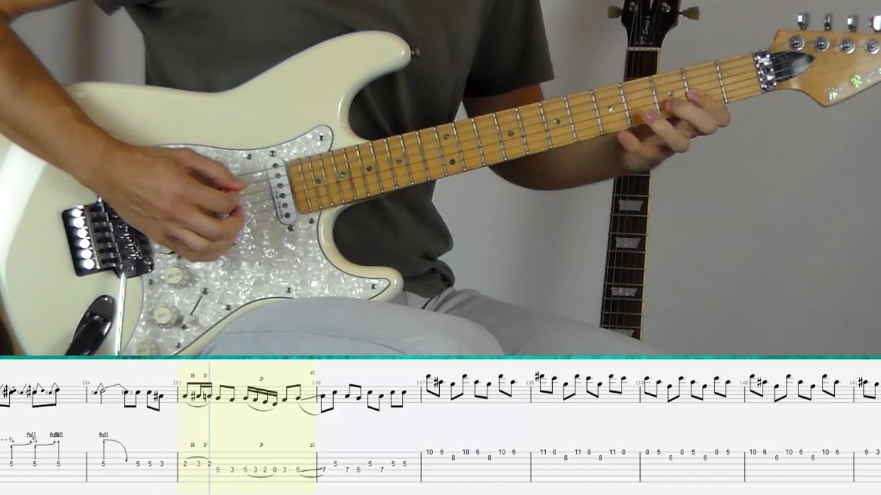 Deep Purple - Burn (Guitar Tutorial) - YouTube