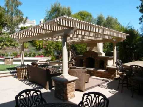 Alumawood freestanding patio cover orange los angeles for Build a freestanding patio cover
