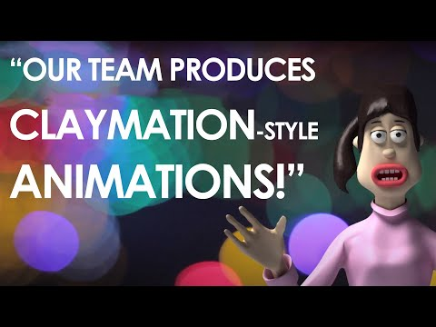 Claymation Animated Advert