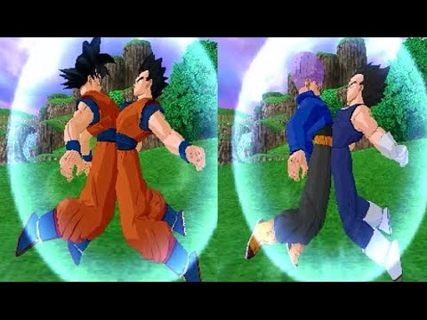 Fusion Vegetrunks VS Gokhan Dragon Ball Z Budokai Tenkaichi 3 Mod Travel Video