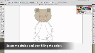 Making Teddy Bear in Illustrator