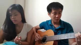 Chờ người nơi ấy guitar cover - Thành Trung - Moon Miu