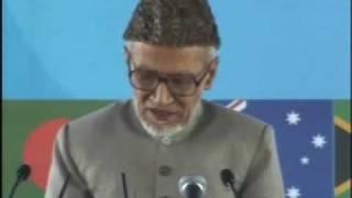 Ahmadiyya Hafiz Saleh Allauddin Sb Speech at Jalsa Salaana Qadian 2009 - Part 1