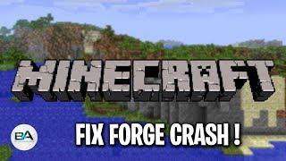 Fix Minecraft Forge Crash