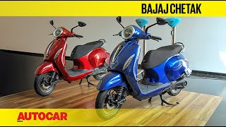 2019 Bajaj Chetak Electric Walkaround | First Look | Autocar India