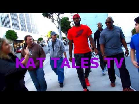 LeBron James Strolling Through Beverly Hills
