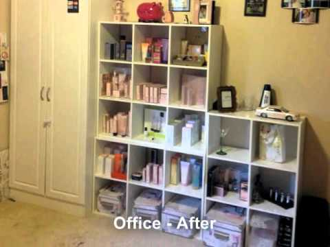 Decluttering 4 serenity before after photos slideshow - Declutter before and after ...