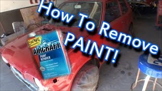 How to Strip Paint Off A Car Or Truck - Part 1