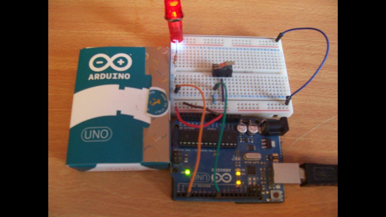 Arduino simple debounce sketch included youtube