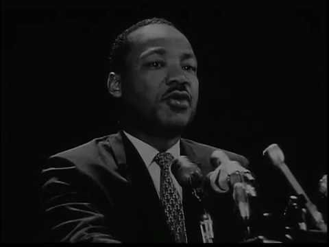 Martin Luther King, Jr. visits Stanford (1967)