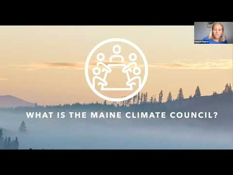 Lunch & Learn: An Update on the Maine Climate Council