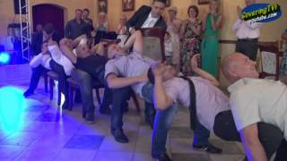 Свадебный конкурс со стульями