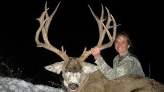"230"" Giant Mule Deer Hunt in Utah - Stephanie Durfee - MossBack"