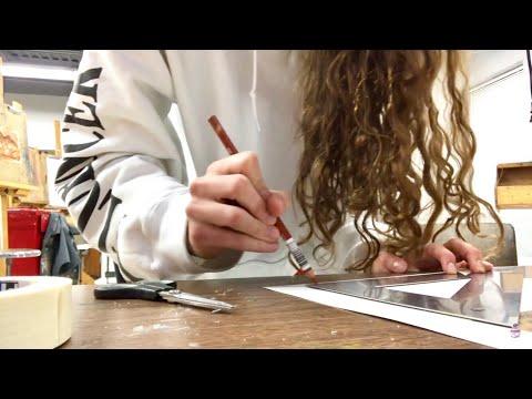 Art College Vlog 16 | Literally just non-stop art homework.