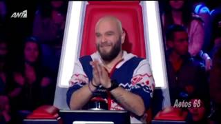 The Voice Of Greece Battles Λούης Βλαχάκης vs Παναγιώτης Βιντζηλαίος (Summer of 69) {28/2/2014}