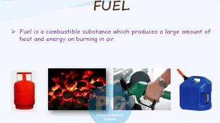 Fuel & Characteristics of Good Fuel (GA_M-SOE05)
