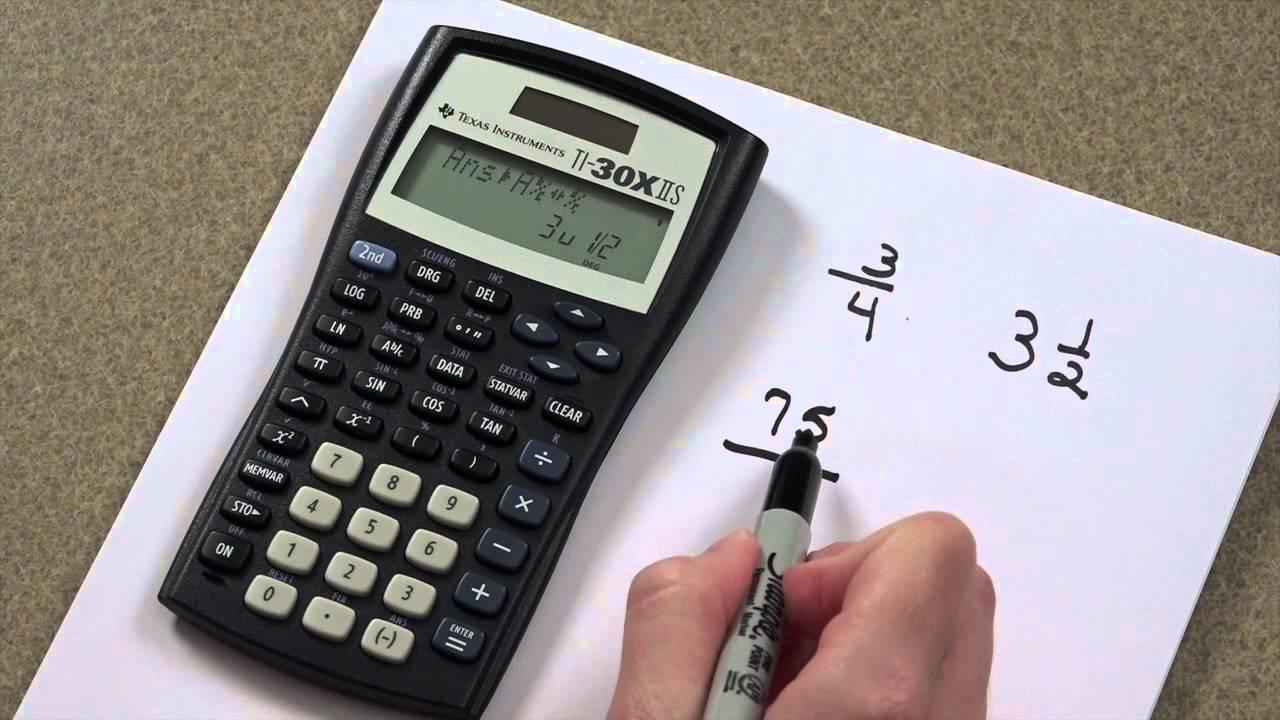Calculator - Fractions - YouTube