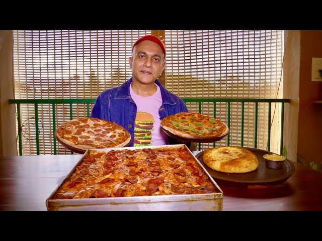 Tasting North Bengaluru's Best Pizza At SIDDY'S PIZZA | Veg Margherita, Chicken, Sicilian Pepperoni