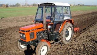 Rolnik Szuka... Traktora / Prace Polowe - Zetor 7211 + Pług 3 skibowy / Agregat uprawowy / Gruber