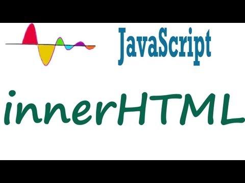 JavaScript Tutorial - InnerHTML - Dynamic Markup Insertion