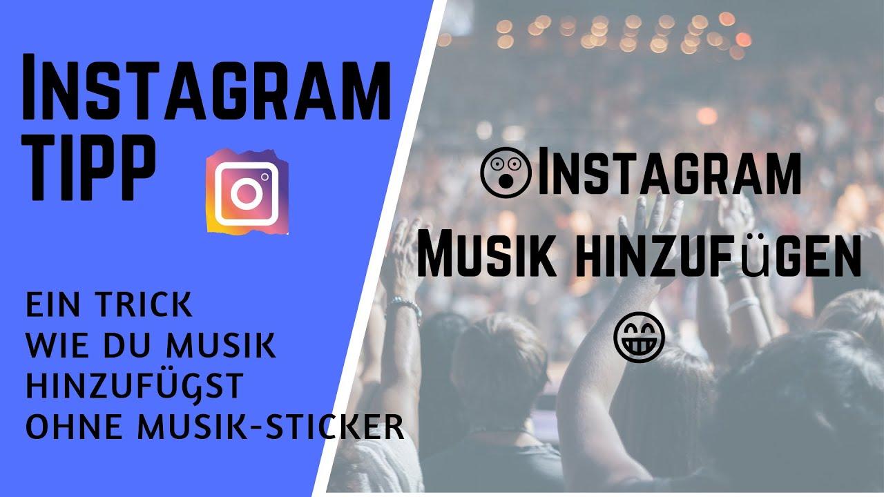 instagram story mit musik