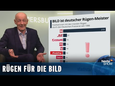 Die Bild-Zeitung: der tollwütige Bastard unter den deutschen Hütehunden | heute-show vom 02.10.2020
