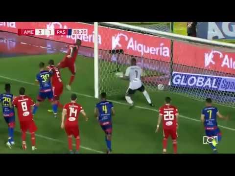 Gol olímpico de Pasto ante América: Gilberto Alcatraz García